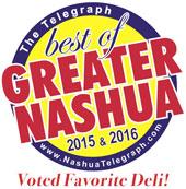 Best of Nashua Pizza TJ's Deli & Catering 2014-2016